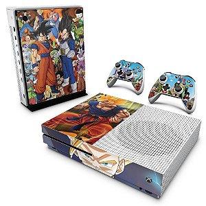 Xbox One Slim Skin - Dragon Ball Z