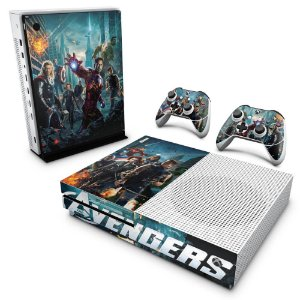 Xbox One Slim Skin - The Avengers - Os Vingadores