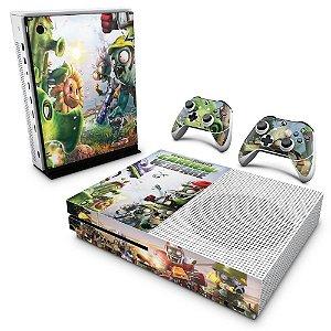 Xbox One Slim Skin - Plants Vs Zombies Garden Warfare
