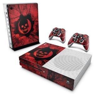 Xbox One Slim Skin - Gears of War - Skull