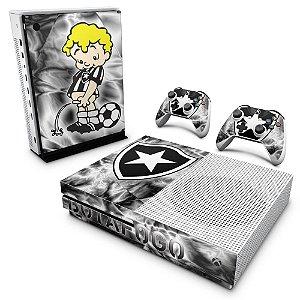 Xbox One Slim Skin - Botafogo