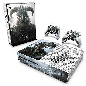 Xbox One Slim Skin - Skyrim