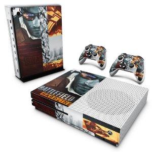 Xbox One Slim Skin - Battlefield Hardline