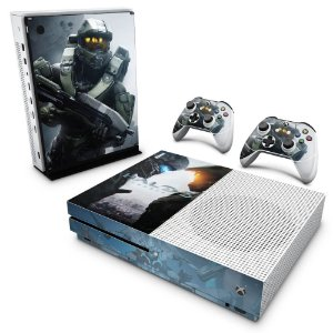 Xbox One Slim Skin - Halo 5: Guardians #B