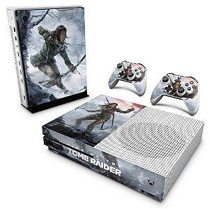 Xbox One Slim Skin - Rise of the Tomb Raider