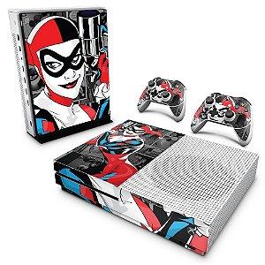 Xbox One Slim Skin - Arlequina Harley Quinn #A