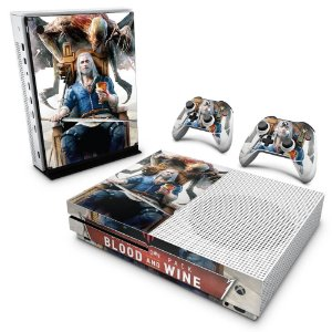 Xbox One Slim Skin - The Witcher 3 Blood And Wine