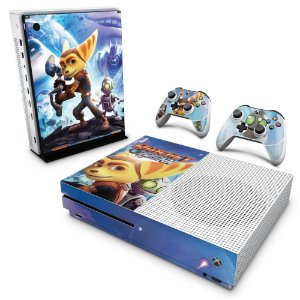 Xbox One Slim Skin - Ratchet and Clank
