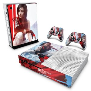 Xbox One Slim Skin - Mirror's Edge Catalyst