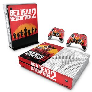 Xbox One Slim Skin - Red Dead Redemption 2