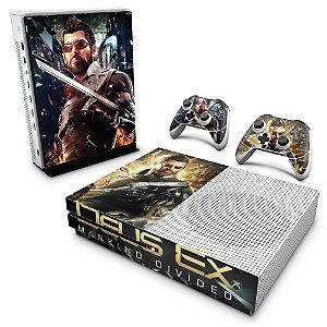 Xbox One Slim Skin - Deus Ex: Mankind Divided