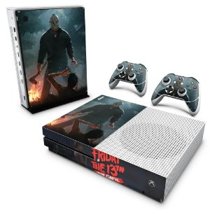 Xbox One Slim Skin - Friday the 13th The game - Sexta-Feira 13