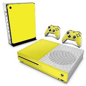Xbox One Slim Skin - Amarelo