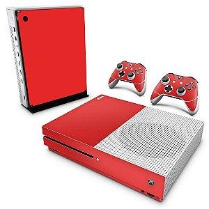 Xbox One Slim Skin - Vermelho