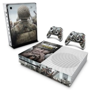 Xbox One Slim Skin - Call of Duty WW2