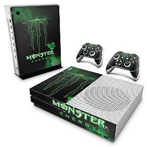 Xbox One Slim Skin - Monster Energy Drink
