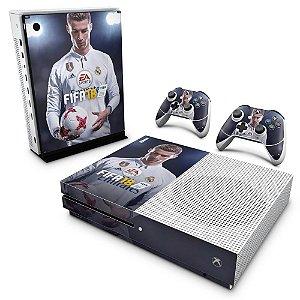 Xbox One Slim Skin - FIFA 18