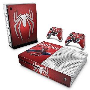 Xbox One Slim Skin - Homem Aranha Spider-man