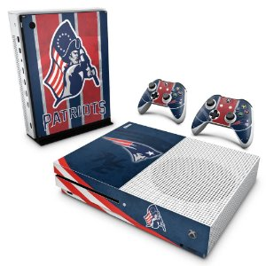 Xbox One Slim Skin - New England Patriots NFL