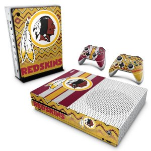 Xbox One Slim Skin - Washington Redskins NFL