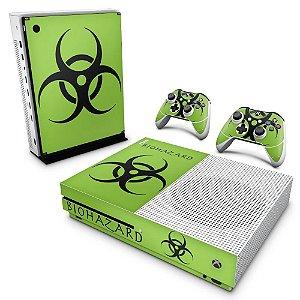 Xbox One Slim Skin - Biohazard Radioativo