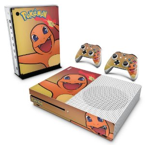 Xbox One Slim Skin - Pokemon Charmander