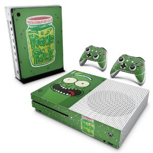 Xbox One Slim Skin - Pickle Rick and Morty