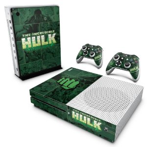 Xbox One Slim Skin - Hulk Comics