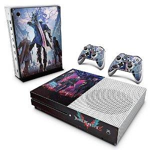 Xbox One Slim Skin - Devil May Cry 5