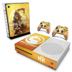 Xbox One Slim Skin - Mortal Kombat 11