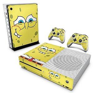 Xbox One Slim Skin - Bob Esponja