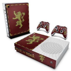 Xbox One Slim Skin - Game Of Thrones Lannister