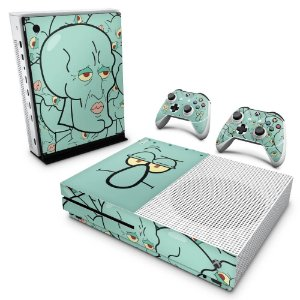 Xbox One Slim Skin - Lula Molusco Bob Esponja