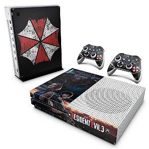 Xbox One Slim Skin - Resident Evil 3 Remake