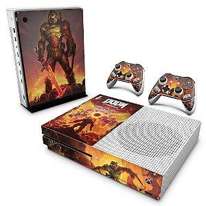 Xbox One Slim Skin - Doom Eternal