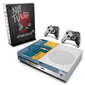Xbox One Slim Skin - Cyberpunk 2077 Bundle