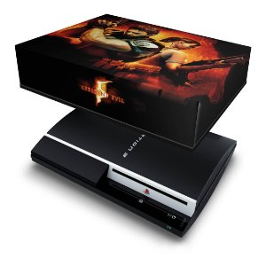 PS3 Fat Capa Anti Poeira - Resident Evil 5
