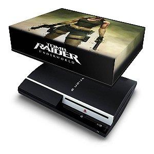 PS3 Fat Capa Anti Poeira - Tomb Raider