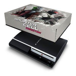 PS3 Fat Capa Anti Poeira - Splinter Cell