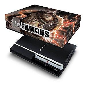 PS3 Fat Capa Anti Poeira - Infamous 2