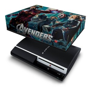 PS3 Fat Capa Anti Poeira - Avengers Vingadores