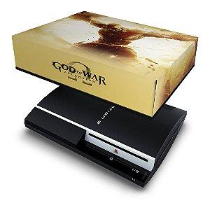 PS3 Fat Capa Anti Poeira - God Of War 4
