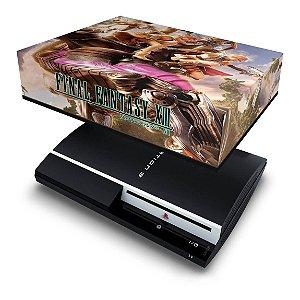 PS3 Fat Capa Anti Poeira - Final Fantasy Xiii