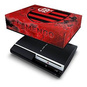 PS3 Fat Capa Anti Poeira - Flamengo