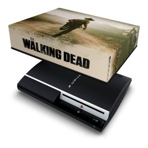 PS3 Fat Capa Anti Poeira - The Walking Dead