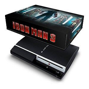 PS3 Fat Capa Anti Poeira - Homem De Ferro
