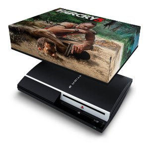 PS3 Fat Capa Anti Poeira - Far Cry 3