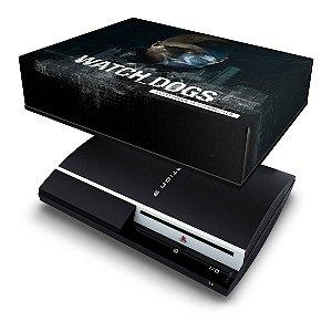 PS3 Fat Capa Anti Poeira - Watch Dogs