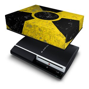 PS3 Fat Capa Anti Poeira - Radioativo