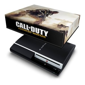PS3 Fat Capa Anti Poeira - Call Of Duty Advanced Warfare